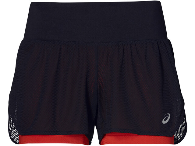 asics Cool 2-In-1 Short Femme, mp performance black